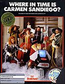 jaquette Commodore 64 Where In Time Is Carmen Sandiego