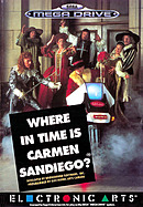 jaquette Megadrive Where In Time Is Carmen Sandiego