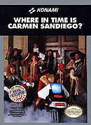 jaquette Nes Where In Time Is Carmen Sandiego