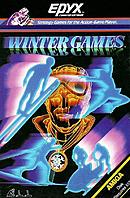 jaquette Amiga Winter Games