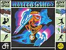 jaquette Commodore 64 Winter Games