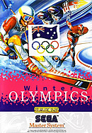 jaquette Master System Winter Olympics Lillehammer 94