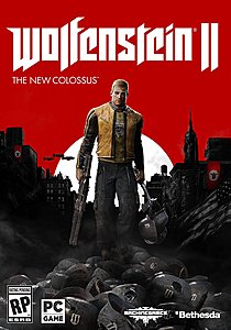 jaquette PC Wolfenstein II The New Colossus