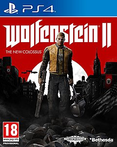 jaquette PlayStation 4 Wolfenstein II The New Colossus