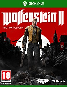 jaquette Xbox One Wolfenstein II The New Colossus