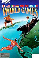 jaquette Amiga World Games