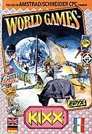 jaquette Amstrad CPC World Games