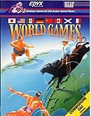 jaquette Commodore 64 World Games