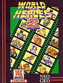 jaquette Neo Geo World Heroes 2