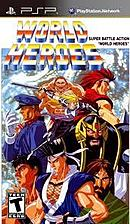 jaquette PSP World Heroes