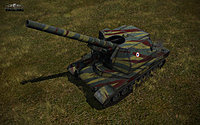 WoT Screens Tank Bat Chatillon 155 Image 01