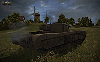 WoT Tanks Black Prince Image 02