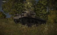 WoT Tanks Vickers Medium Mark III Image 01