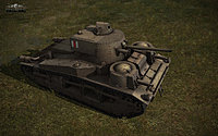 WoT Tanks Vickers Medium Mark III Image 02