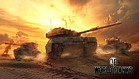World of Tanks British Tanks Key Art