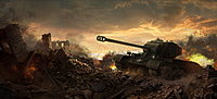 World of Tanks Pershing Artwork