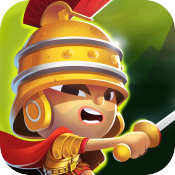 jaquette iOS World Of Warriors Quest