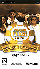 jaquette PSP World Series Of Poker Tournament Of Champions 2007 Edition