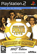 jaquette PlayStation 2 World Series Of Poker Tournament Of Champions 2007 Edition