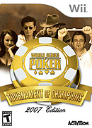 jaquette Wii World Series Of Poker Tournament Of Champions 2007 Edition