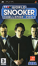 jaquette PSP World Snooker Challenge 2007