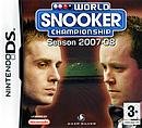 jaquette Nintendo DS World Snooker Championship Season 2007 08