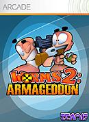 jaquette Xbox 360 Worms 2 Armageddon