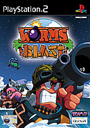 jaquette PlayStation 2 Worms Blast