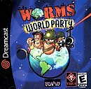jaquette Dreamcast Worms World Party