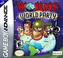 jaquette GBA Worms World Party