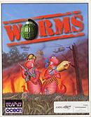 jaquette Amiga Worms