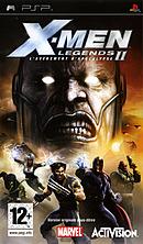 jaquette PSP X Men Legends II L Avenement D Apocalypse