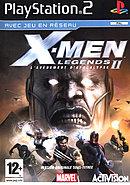 jaquette PlayStation 2 X Men Legends II L Avenement D Apocalypse