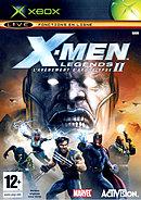 jaquette Xbox X Men Legends II L Avenement D Apocalypse