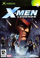 jaquette Xbox X Men Legends