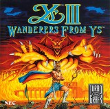 jaquette PC Engine CD ROM Ys III Wanderers From Ys