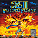 jaquette PC Engine Ys III Wanderers From Ys