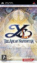 jaquette PSP Ys The Ark Of Napishtim