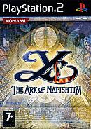 jaquette PlayStation 2 Ys The Ark Of Napishtim