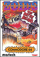 jaquette Commodore 64 Zoids The Battle Begins